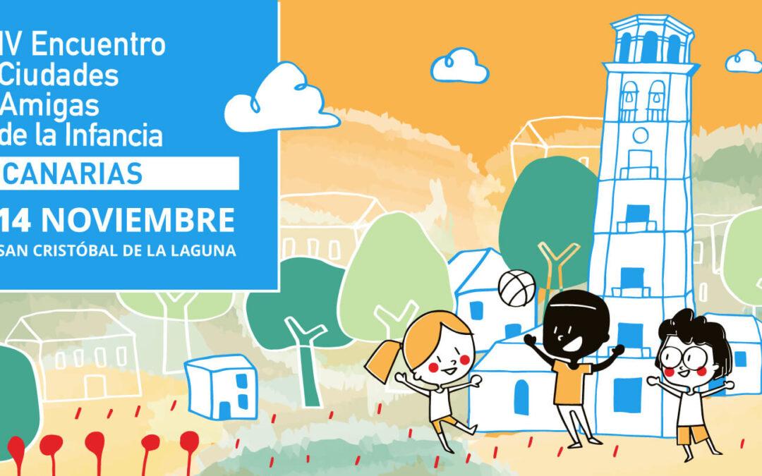 IV Encuentro Ciudades Amigas de la Infancia Canarias