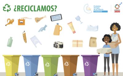 ¡Al abordaje del reciclaje!